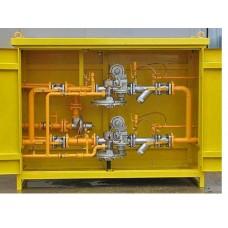 ГРПШ 05-2У1 с РДНК - 400м с обогр.,узел учета газа СГ-ЭКВз-Р-0,75-100/1,6 (1:50)